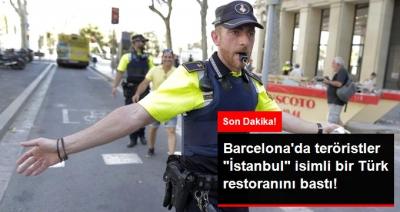 Son Dakika! Terör Barcelona'da: Kalabalığın Arasına Minibüs Daldı, Türk Restoranı Silahlı Kişilerce Basıldı