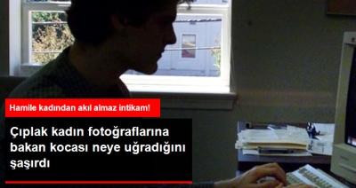 Sürekli İnternetten Çıplak Kadın Fotoğraflarına Bakan Kocaya Karısından Şok İntikam!