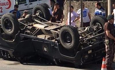 Trabzon ve Şanlıurfa'da Polis Zırhlı Aracı Devrildi! Yaralı Polislerin Sağlık Durumu!