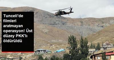 Tunceli'de Nefes Kesen Operasyon! Üst Düzey PKK'lı Terörist Öldürüldü!