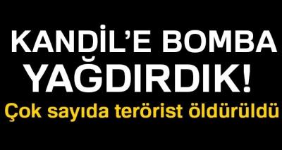 Türk Jetleri Kandil'deki PKK Kamplarına Bomba Yağdırdı, 21 Terörist Etkisiz Hale Getirildi