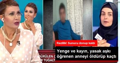 TV 8 Gerçeğin Peşinde Programında Ortaya Çıkan Şok Olay! Geli ve Kayınbirader, Annelerini Öldürüp Kaçtı!