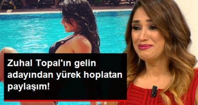 Zuhal Topal'ın Skandal Gelin Adayı Naz, Son Paylaşımı İle Yine Yürek Hoplattı!