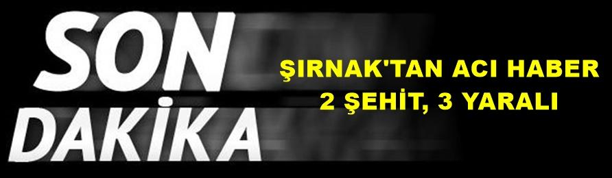 Son Dakika! Şırnak'ta Askerlere Saldırı: 1 Yüzbaşı, 1 Güvenlik Korucusu Şehit