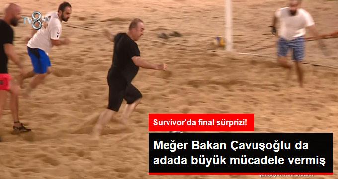 Acun'dan Survivor Finalinde Büyük Sürpriz! Bakan Mevlüt Çavuşoğlu, Survivor Adası'nda!