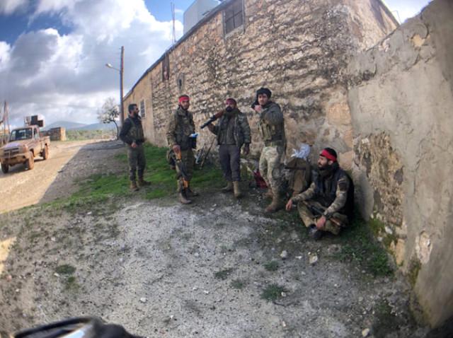 Afrin'de Temizlik Devam Ediyor! TSK ve ÖSO Raco'ya Girdi, İlk Görüntüler Geldi