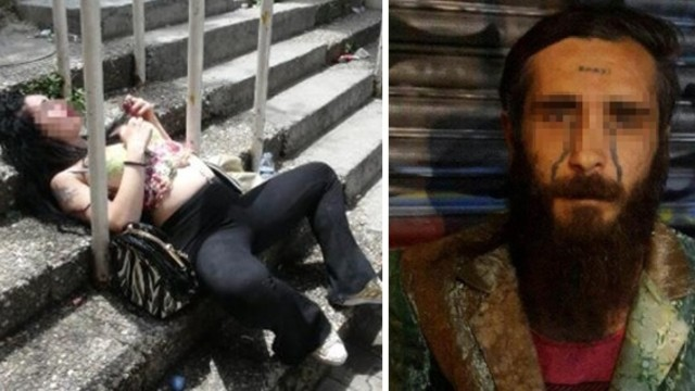 """Alnında """"Enayi"""" Dövmesi Bulunan Uyuşturucu Satıcısı Polis Tarafından Yakalandı!"""