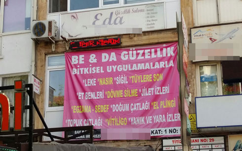 Ankara'da Skandal! Hekim Olmadığı Halde Hastalıkları Tedavi Etmek İçin Afiş Hazırlattı!