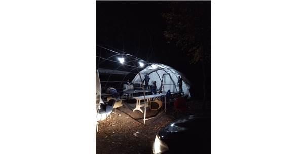 Belgrad Ormanında Kumar Çadırı Kurdular! Polise Yakalanmaktan Kurtulamadılar