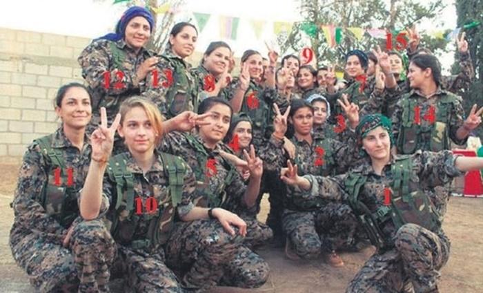 Bu Fotoğraftaki Teröristlerin Hepsi Öldürüldü! 15'i Kadın…