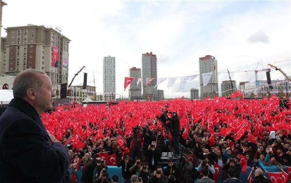 Cumhurbaşkanı Erdoğan İstanbul'da Millet Bahçeleri Açılışını Yaptı