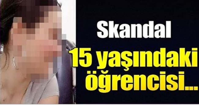 Denizli'de Skandal Olay! Düşük Not Alan Öğrenci, Öğretmenini Dövdü