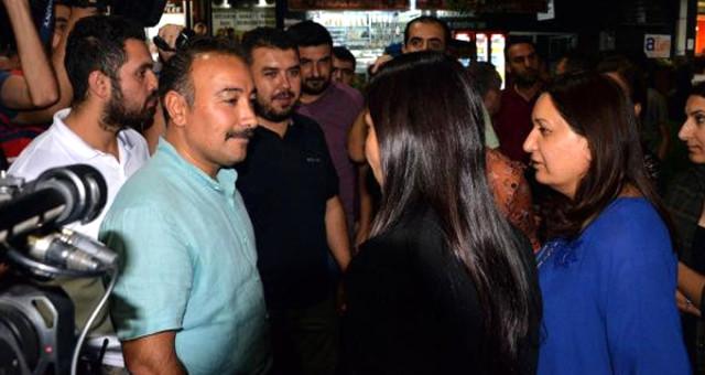 """Diyarbakır'da Polisten HDP'li Vekile Tarihi Ayar: """"Vekil Olan Sizsiniz, Yemininize Sadık Kalın"""""""