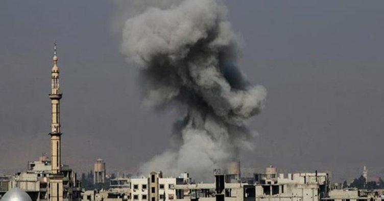 Esad Rejimi Doğu Guta'yı Vurdu! 17 Sivil Hayatını Kaybetti