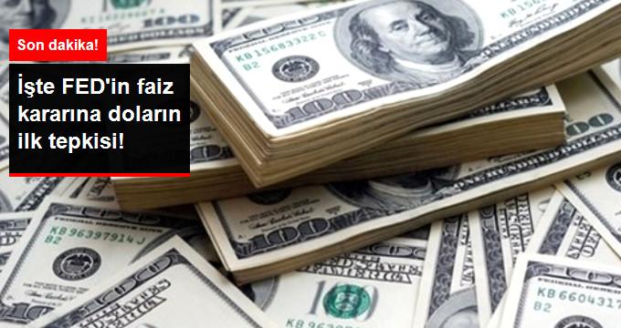 FED Beklenen Faiz Kararını Açıkladı! Dolar'ın İlk Tepkisi Ne Oldu?