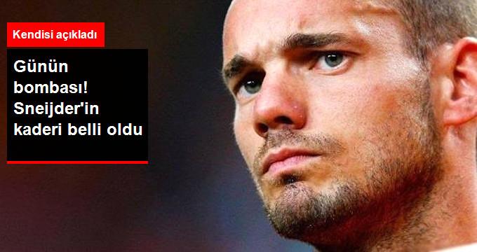 """Formalar Giydirildi, Hayaller Kuruldu Son Noktayı Sneijder Koydu: """"Galatasaray'da Kalıyorum"""""""