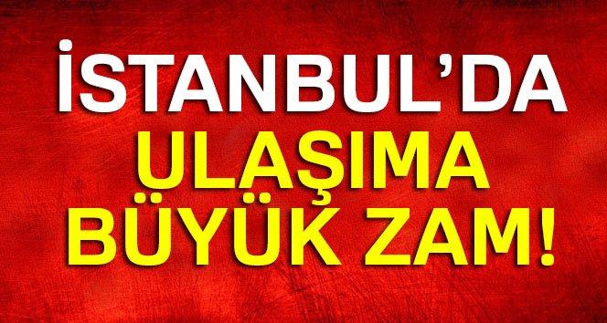 İstanbul'da Toplu Taşımaya Büyük Zam! Yeni Ulaşım Ücretleri Ne Kadar Oldu?