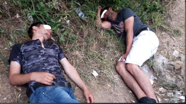 İstanbul'dan Gelen Götüntü Yürek Sızlattı! Bonzai İçen 15 Genç Yol Kenarında Yığılıp Kaldı!