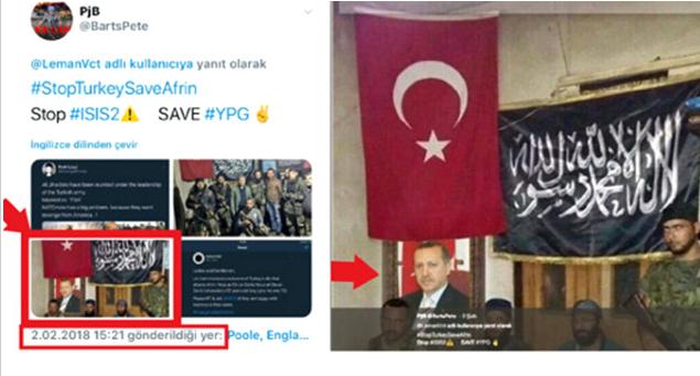 Köşeye Sıkıştıkça Yalana Sığınıyorlar! YPG Bu Kez De Cumhurbaşkanı Erdoğan'ı Kullandı