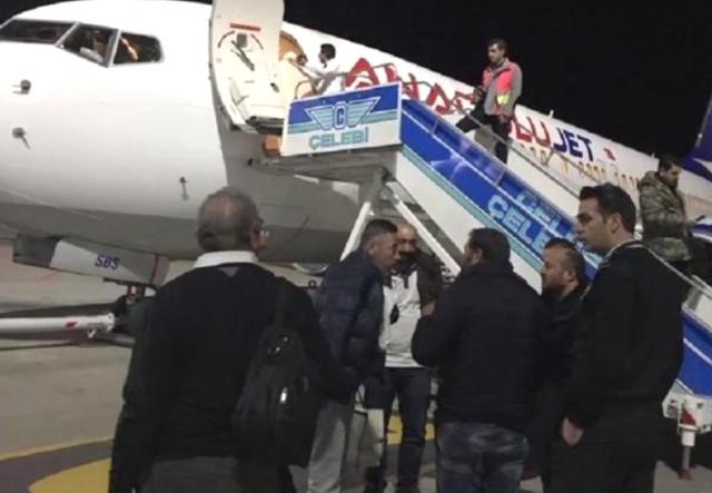 Malatya Havalimanı'nda Hareketli Saatler! Fenerbahçe Taraftarlarını Taşıyan Uçakta Bomba İhbarı