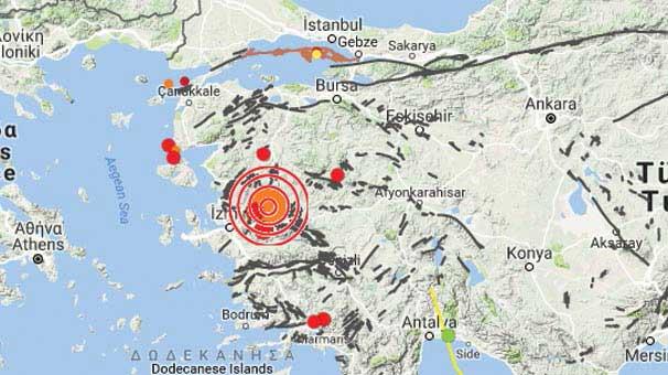 Manisa Beşik Gibi Sallanmaya Devam Ediyor! Manisa'da 12 Saat İçinde 120 Deprem Oldu!