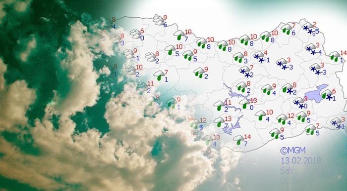 Meteoroloji Son Dakika Hava Durumu! Eskiden Haberlere Bile Konu Olmayan O İller İçin Sürpriz Kar Yağışı Uyarısı Yapıldı