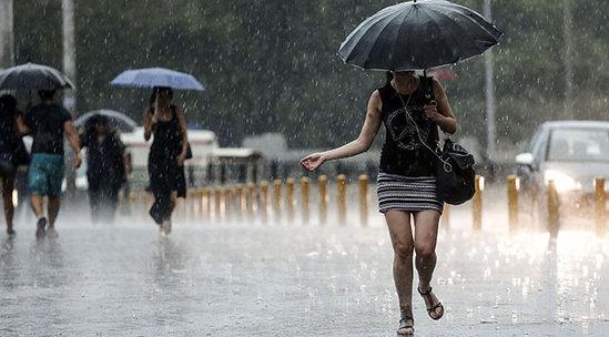 Meteorolojiden O İllere Kritik Uyarı! Kuvvetli Sağanak Yağış Etkili Olacak
