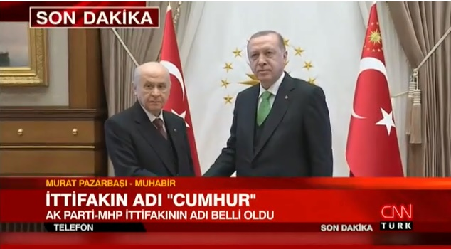 MHP - Ak Parti İttifakının Adı Ne Olacak? Cumhurbaşkanı Erdoğan İttifakın Adını Açıkladı!