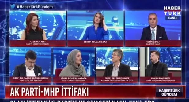 MHP'li Gazeteci Metin Özkan ile Nihal Bengisu Karaca Arasında Ahmet Kaya Kavgası