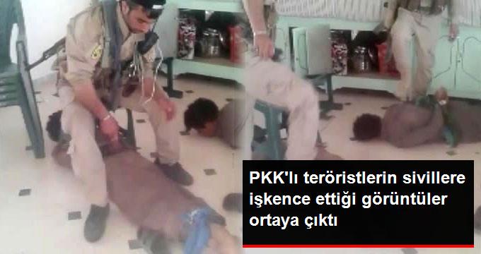 PKK/PYD'li Teröristlerin Sivillere Yaptığı İşkencenin Görüntüleri Ortaya Çıktı!