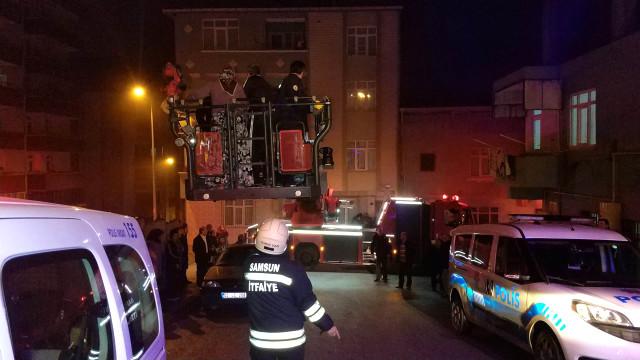 Samsun'da Patlayan Televizyon 6 Kişilik Aileyi Ölümden Döndürdü