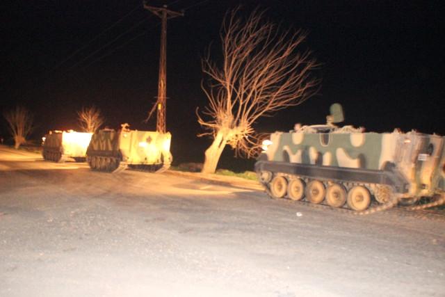 Sınırda Neler Oluyor? Tanklar Sıfır Noktasına Geldi, Hareketlilik Başladı