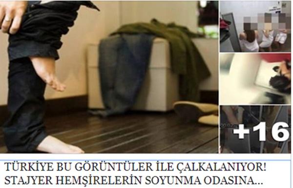 Skandal Olay! Aydın'da Temizlik İşçisi Stajyer Hemşirelerin Soyunma Odasını Cep Telefonu ile Gözetledi!