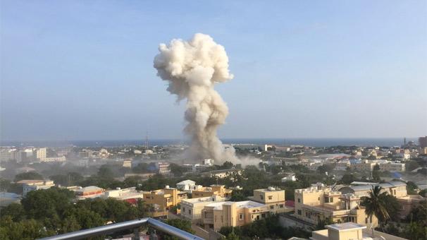 Somali'nin Başkentinde Patlama, Ölü ve Yaralılar Var