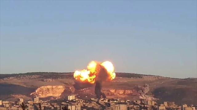 Son Dakika! Afrin'e Operasyon Başladı, Türk Jetleri Bomba Yağdırıyor