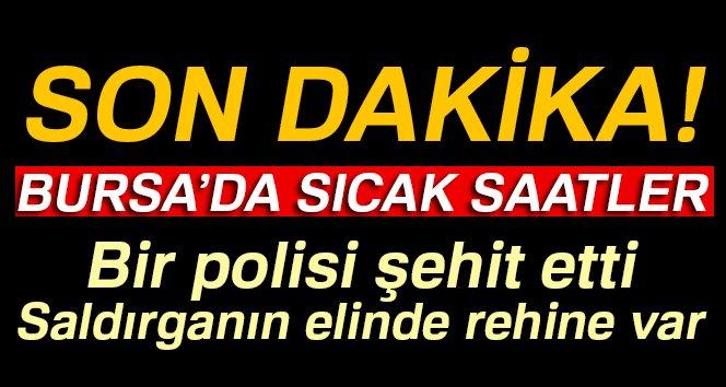 Son Dakika! Bursa'da Saldırgan 1 Polisi Şehit Etti, CHP'li Avukatı Öldürdü, İntihar Etti!
