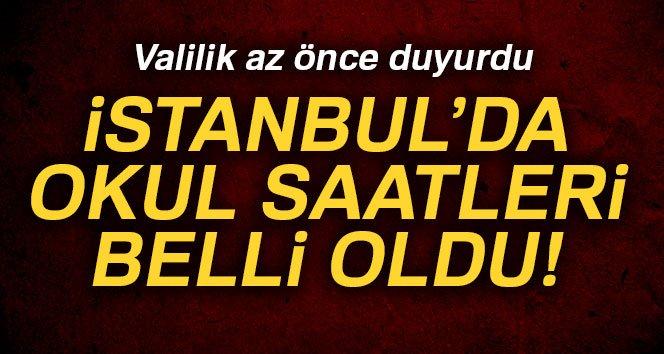 Son Dakika! İstanbul Valiliği Açıkladı, İstanbul'da Okullar Kaçta Başlayacak?