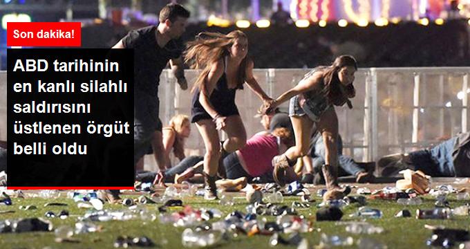 Son Dakika! Las Vegas'taki 50 Kişinin Öldüğü Kanlı Saldırıyı Terör Örgütü DEAŞ Üstlendi