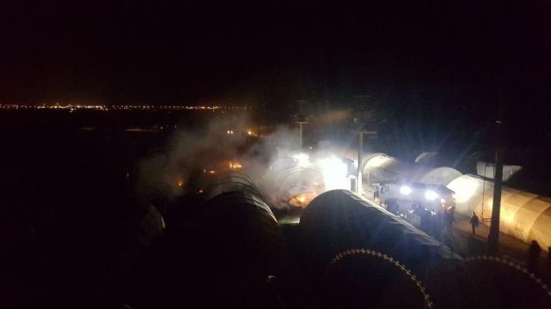 Son Dakika! Mardin'de Asker ve Polislerin Kaldığı Çadır Kentte Yangın, Ölü ve Yaralı Var Mı?