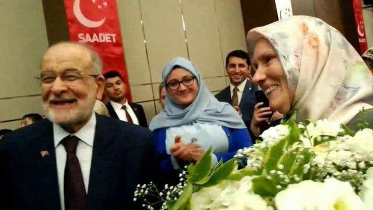 SP Lideri Temel Karamollaoğlu'nun İngiliz Eşi İlk Kez Görüntülendi