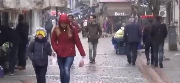 Trakya'da Beklenen Kar Yağışı Başladı! Kar İstanbul'a Ne Zaman Gelecek?
