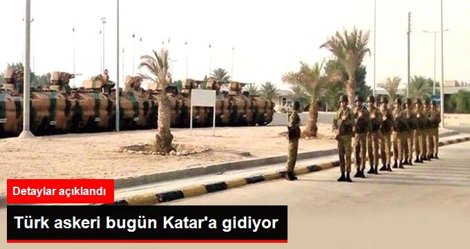 Türk Askerlerinden İlk Grup Bugün Katar'a Gidecek!