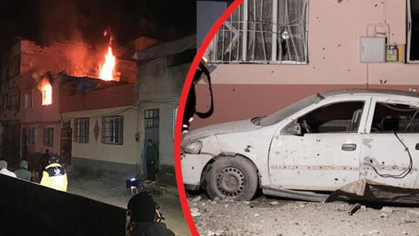 Uykularında Vurdular! Afrin'den Kilis'e 4 Roket Mermisi: 1 Yaralı