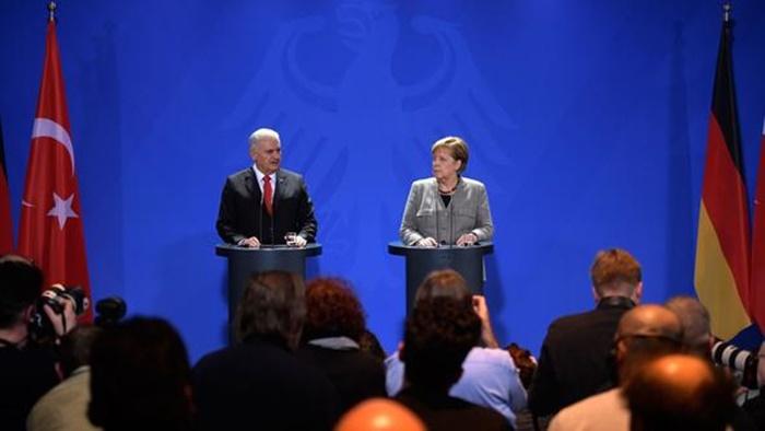 Yıldırım - Merkel Görüşmesi Sona Erdi! Görüşmenin Ardından Bu Mesajlar Verildi