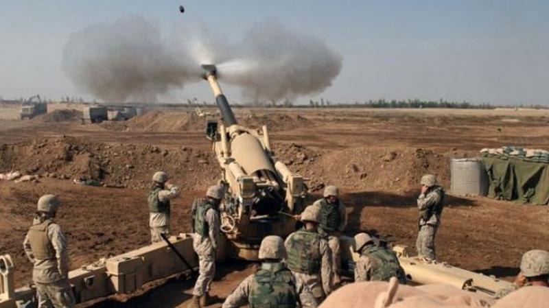 Yoğun Top Atışı Yapıldı! TSK'dan Afrin'deki PYD Mevzilerine Bombardıman