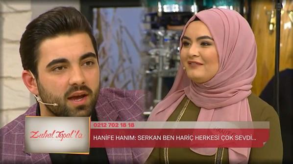 Zuhal Topal'la 7 Haziran 2017 Canlı Yayın!  Hanife ve Serkan Aşkında Yine Kriz!