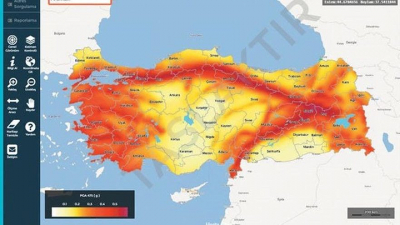 AFAD'tan Büyük Hizmet! Oturduğunuz Yerin Deprem Sorgulama İşlemi Nasıl Yapılır, İşte Deprem Riski Sorgulama Sistemi