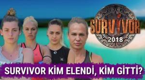 Survivor 2018 21 Mayıs Son Bölümde Kim Elendi?