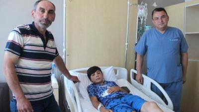 13 Yaşındaki Çocuğun Mucize Kurtuluşu! Öldü Diye Üzeri Örtülmüştü