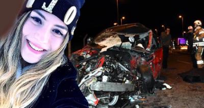 16 Yaşındaki Ehliyetsiz Sürücü Dehşet Saçtı! Kazada Üniversite Öğrencisi Yaren Can Verdi